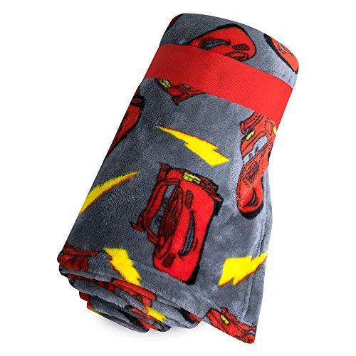 Disney Lightning McQueen Fleece Throw (Lightning Mcqueen Fabric)