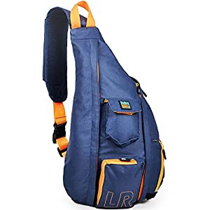 Crossbody Sling Bag - Over Shoulder Backpack for Men & Women with Single Strap
