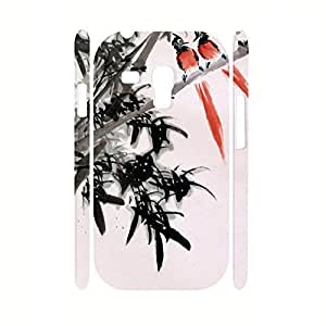 Beauty Charm Hipster Bamboo And Animal Photo Print Phone Accessories Skin for Samsung Galaxy S3 Mini I8200 Case WANGJING JINDA