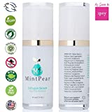 MintPear Collagen Serum, Anti-Aging Facial Serum, Reduces Appearance of Wrinkles & Fine Lines