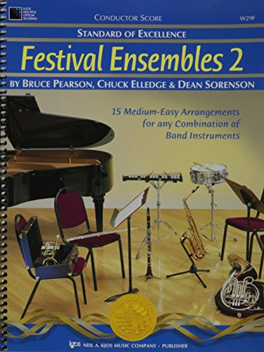Excellence Festival Ensembles - W29F - Standard Of Excellence - Festival Ensembles 2 - Conductor Score