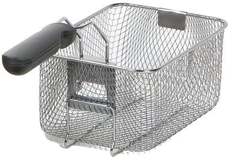 Fritteusen - Freídora doble (2 cestos de 3 L cada uno, acero): Amazon.es: Hogar
