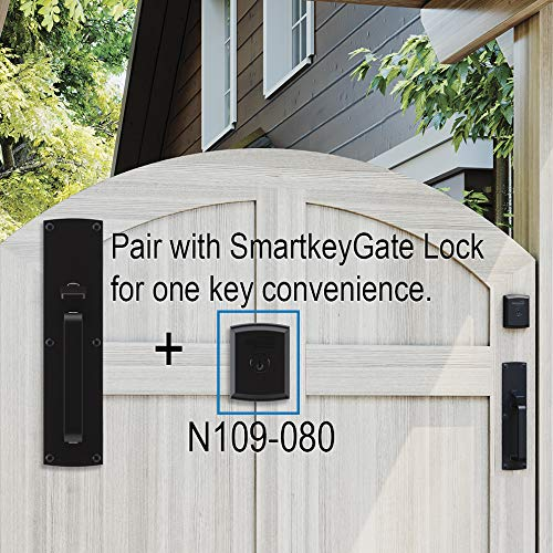 Gate Thumb Latch N109-050 by National Hardware in Black by National Hardware (Image #6)