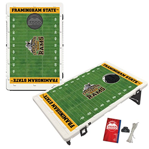 Framingham State Rams Baggo Bean Bag Toss Cornhole Game Homefield Design by Victory Tailgate