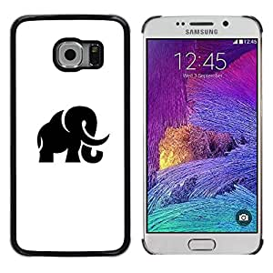 Be Good Phone Accessory // Dura Cáscara cubierta Protectora Caso Carcasa Funda de Protección para Samsung Galaxy S6 EDGE SM-G925 // Mammoth Haunt