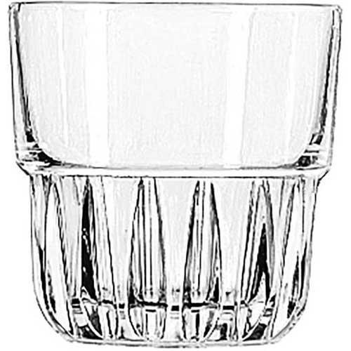 Libbey Everest Plus DuraTuff Stackable Rocks Glass, 7 Ounce - 36 per case.