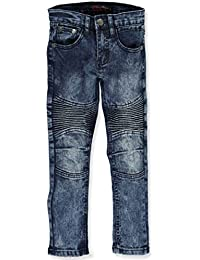 Little Boys'Pleated Fade Jeans
