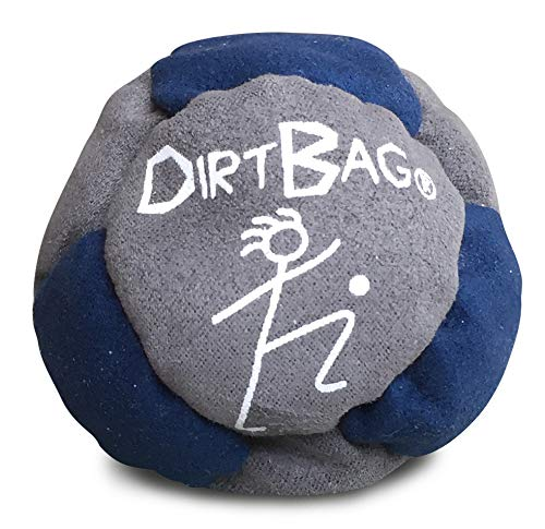 World Footbag Dirtbag Hacky Sack Footbag, Navy/Grey by World Footbag