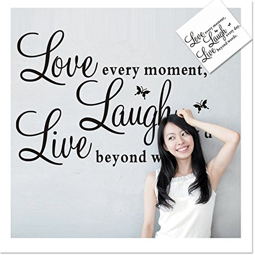 [Removable Vinyl Wall Decals Live Love Laugh Wall Art Stickers To Accent Your Lifestyle -- Home, Office, Dorm, Or Any Space, XL¡­ by] (Animal That Starts With The Letter N)