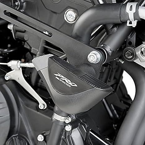 Roulettes de protection R12 Yamaha MT-07 Tracer 16-19 noir Puig 7064n