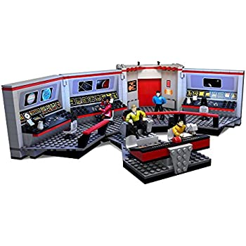 Amazon Mega Bloks Star Trek Uss Enterprise Bridge Collector