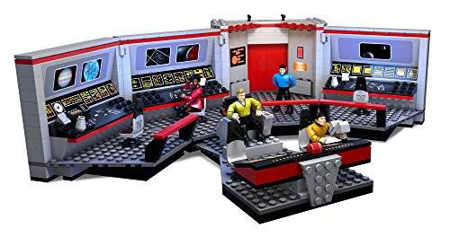 Mega Bloks Star Trek U.S.S. Enterprise Bridge Collector Construction Set (Bridge Construction Set)