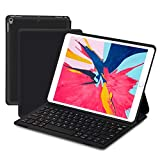 Keyboard Case for iPad Pro 10.5 iPad Air 2019 3rd Gen - iPad 10.5 inch Ultra-Thin Lightweight Bluetooth Keyboard with Magnetically Intelligent Switch and Multi-Angle Stand Auto Sleep Wake Silent Typing