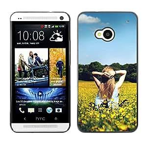 Dragon Case - FOR HTC One M7 - Seeing is believing - Caja protectora de pl??stico duro de la cubierta Dise?¡Ào Slim Fit