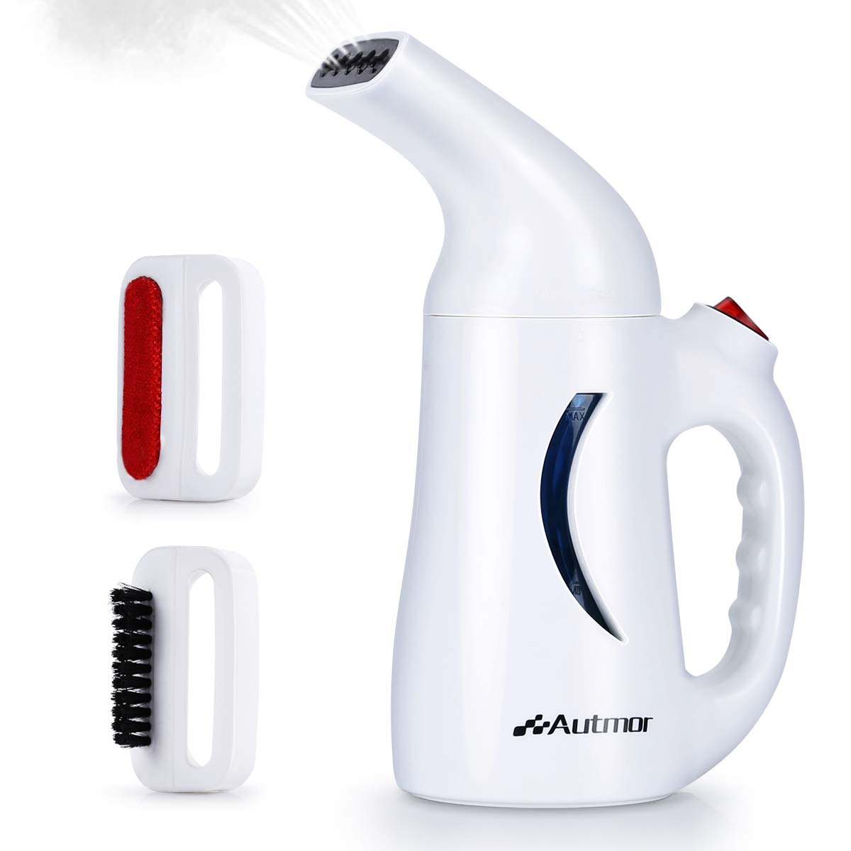Manfiter Steamer Handheld for Clothes Garment Clothing Soft Garment Hand Steamers for Travel Home 130ML