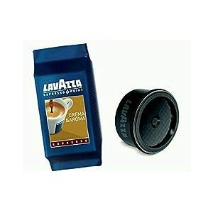 Lavazza Espresso Point Crema e Aroma Grand Espresso Capsules (Count of 100)