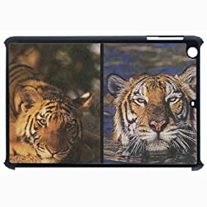 Customized Back Cover Case For iPad Air 5 Hardshell Case, Black Back Cover Design Help Tiger WwwWwfAt Personalized Unique Case For iPad Air 5