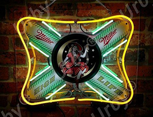 "New Miller High Life Beer Neon Light Sign 24/""x20/"""