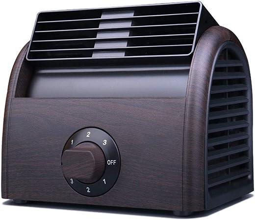Ventilador de Rodillo de Escritorio Potente Ventilador de enfriamiento de Mesa de Alta Potencia Mute Turbina ...