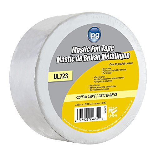 Weather Foil Tape - IPG Mastic Foil Tape, 2.88