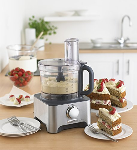 Kenwood Multi-Pro Classic Food Processor, 1000 W - Silver by Kenwood