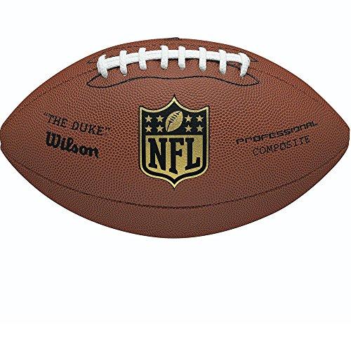 (Wilson NFL Duke Replica American Football)
