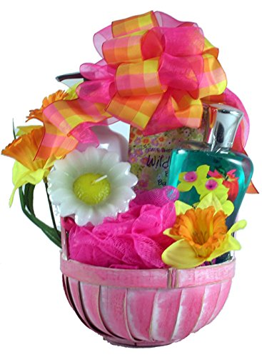 Gift Basket Village Wild Apple Daffodil SPA Set for Her