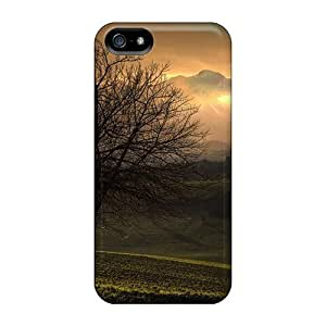 Durable Case For The Iphone 5/5s- Eco-friendly Retail Packaging(tree The Mountain)