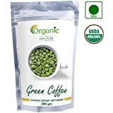 Perennial Lifesciences 100% Pure Organic Green Coffee Beans Decaffeinated and Unroasted, 200gm(PGCB200)