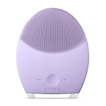 FOREO LUNA 2 Personalized Facial Cleansing Brush & Anti-Aging Face Massager for Sensitive Skin