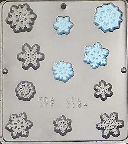 Snowflake Pieces FROZEN Movie Party Chocolate Candy Mold Christmas 2164