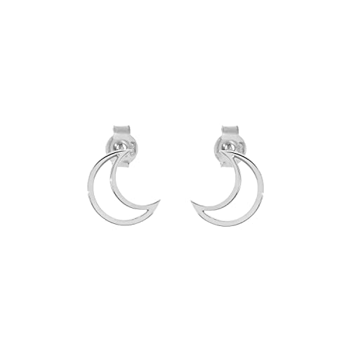 373206daa Image Unavailable. Image not available for. Color: Crescent Moon Earrings  ...