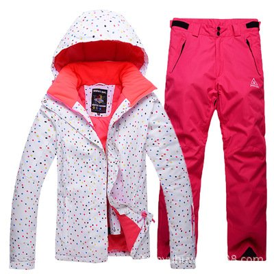 Ski Jacket Pants Red FYM DYF Men JACKETS Women Coat Warm Waterproof Windproof Suit Zipper AYXACxSwqf
