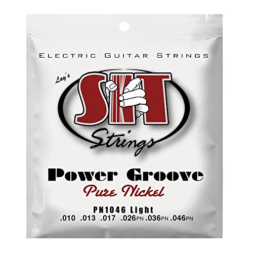 Guitar Nickel Electric Wrap Pure - S.I.T. String PN1046 Light Pure Nickel Wound Electric Guitar String