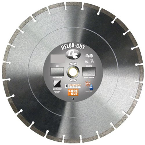 Diamond Products 22856 10-Inch Deluxe Cut High Speed Diamond Blade
