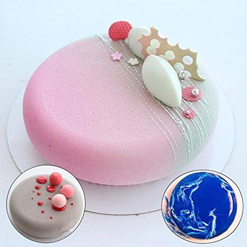 BESTEU Dessert Silicone Pudding Coupe Moule /À Cake Moule De Cuisson Moule /À Cake Moule De D/écoration De G/âteau Outils Bakeware