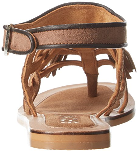 Bronx 84429A-B274 - Sandalias  mujer Multicolor (Mid Brown/Bronze 274)
