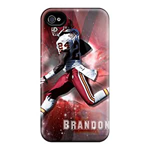 Scratch Resistant Hard Phone Case For Iphone 6plus With Customized Colorful Kansas City Chiefs Skin Marycase88