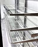 Refrigerated Glass Side Bakery Cake Display Case