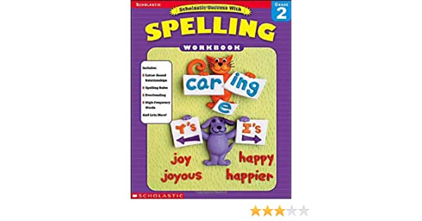 Workbook christmas grammar worksheets : Amazon.com: Scholastic Success With Spelling, Grade 2 (Scholastic ...