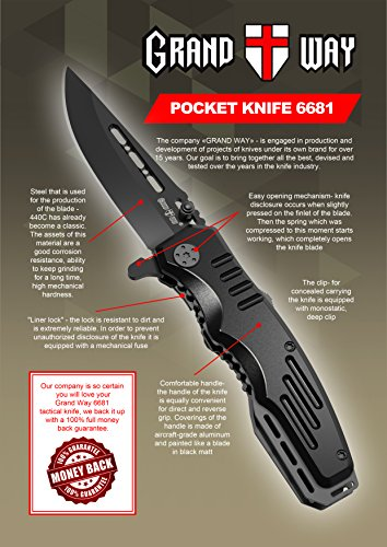Spring-Assisted-Knife-Pocket-Folding-Knife-Military-Style-Boy-Scouts-Knife-Tactical-Knife-Good-for-Camping-Indoor-and-Outdoor-Activities