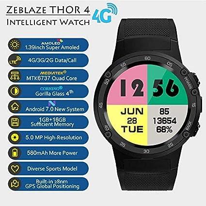Zeblaze Thor 4 Reloj Inteligente, SmartWatch 1.39