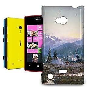 Phone Case For Nokia Lumia 720 - Days of Peace Protective Wrap-Around