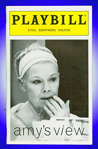 Amy's Survey, Broadway Playbill + Judi Dench, Samantha Bond, Tate Donovan, Ronald Pickup, Anne Pitoniak, Maduka Steady