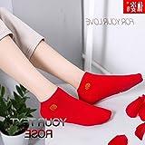 Couple models women girl socks cotton socks natal stepped villain big red hi word marriage wear short tube socks women girl