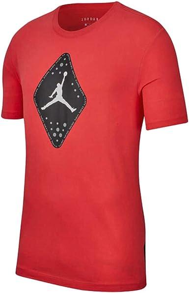 Jordan SRT Legacy Aj6 SS 2 Camiseta Hombre Naranja