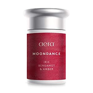 Moondance Scented Home Fragrance, Hypoallergenic Formula With Notes of Iris, Bergamot, Amber, Vanilla - Schedule Using App With Aera Smart 2.0 Diffusers - State Of The Art Air Freshener Technology