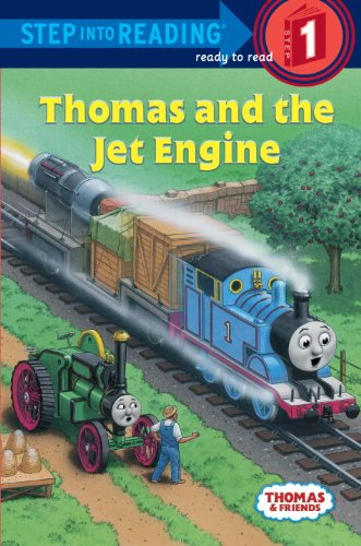 Thomas And The Jet Engine (Turtleback School & Library Binding Edition) (Step into Reading: Step 1)