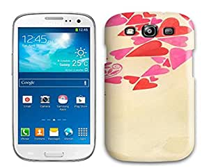 Galaxy S3 Cover Case - Eco-friendly Packaging(Drifting Hearts)