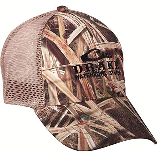 (Drake Mesh Back Cap Blades Camo One Size Fits Most)